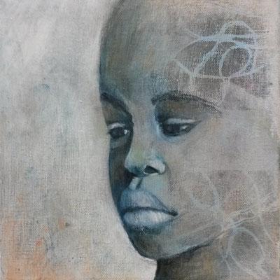 Gesicht 3 Afrikanerin