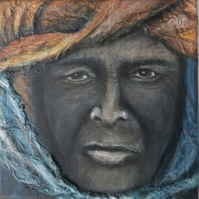 Gesicht 8 Tuareg