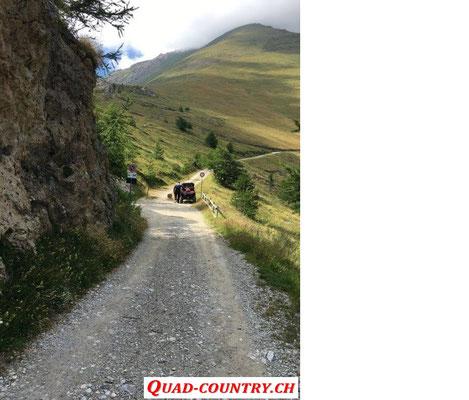 Abfahren von neuen Touren für Westalpen Quad Tour 2020