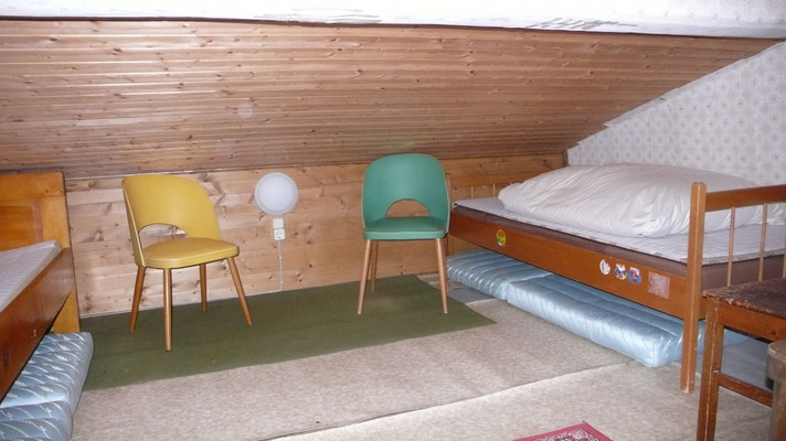 Dachgaube - Einzelbetten