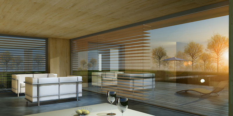 EnergiePlusHaus -  Architekturvisualisierung für das Architekturbüro K13