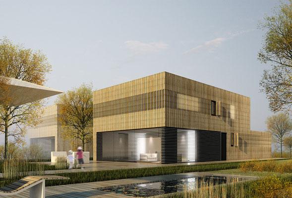 EnergiePlusHaus -  Architekturvisualisierung für das Architekturbüro K13   www.k13-architektur.de