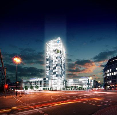 Architekturvisualisierung Wettbewerbsbeitrag