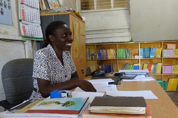 Headteacher für die Primary School: Rachael