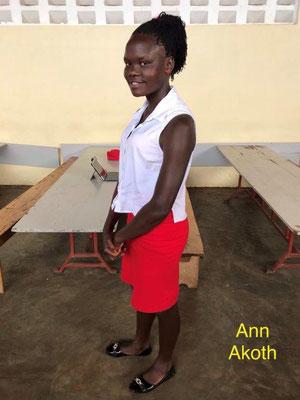 Anna Akoth hat ihren O Level geschafft
