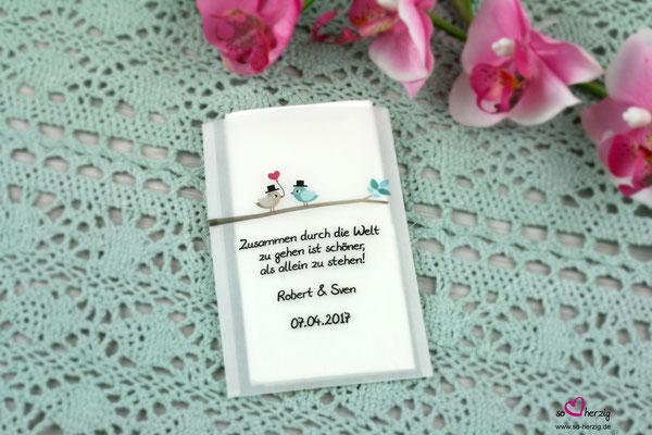 Freudentränen Taschentuch Pergament, Sonderanfertigung