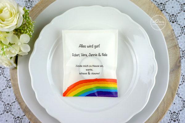 Licht-Botschaft Design Regenbogen - Sonderwunsch