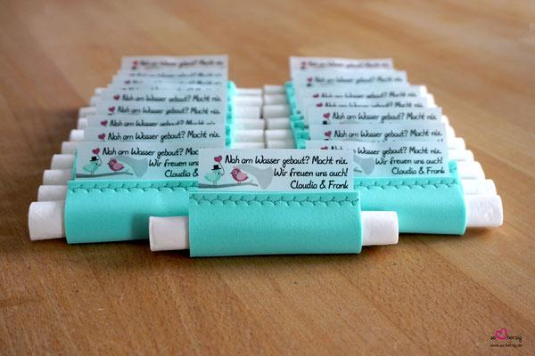 Freudentränen Taschentücher Moosgummi Mint, Sonderwunsch