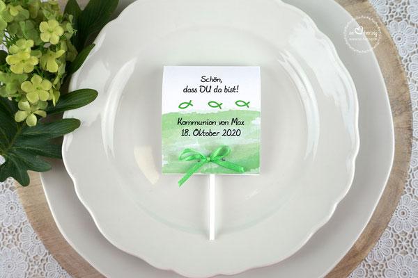 Lutscher Design Aquarellband Apfelgrün