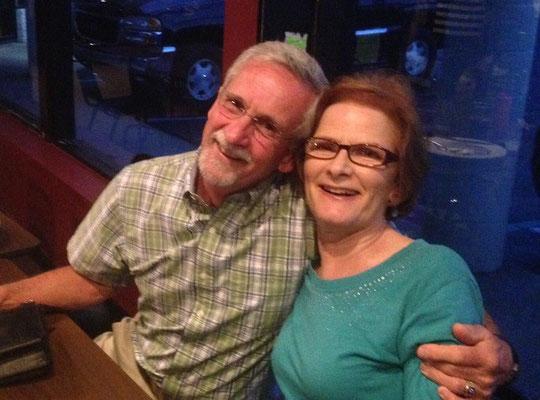 Frank Carroll, Kathy Fagan.