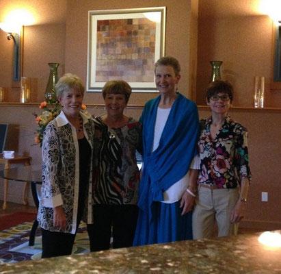 Karen Laux, Alberta Guza, Maureen Bol, JoAnne Perowitz.