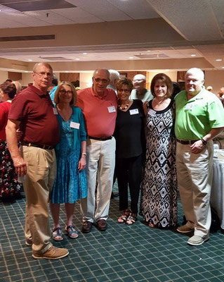 Gary Bates, Maureen Donnely, Dan aube, Judy Fox, Nancy Keyes, Mike Keyes.