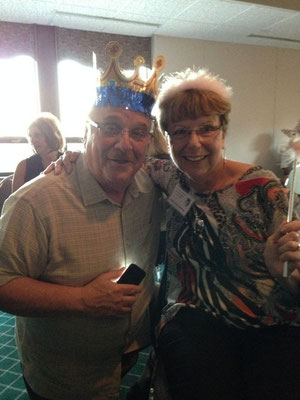 King Ed Goggins, Queen Alberta Guza.