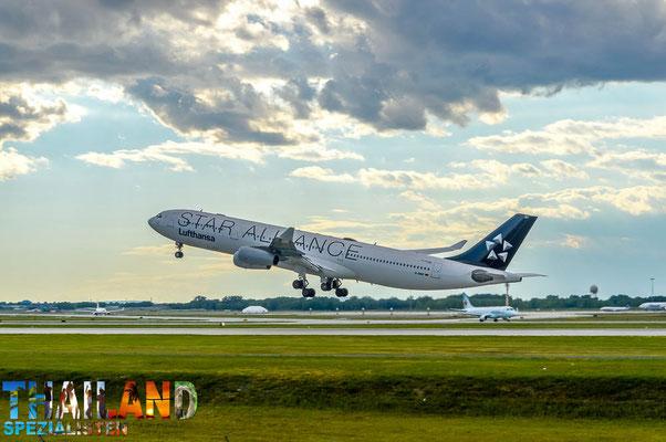 Lufthansa Airbus der Star Alliance