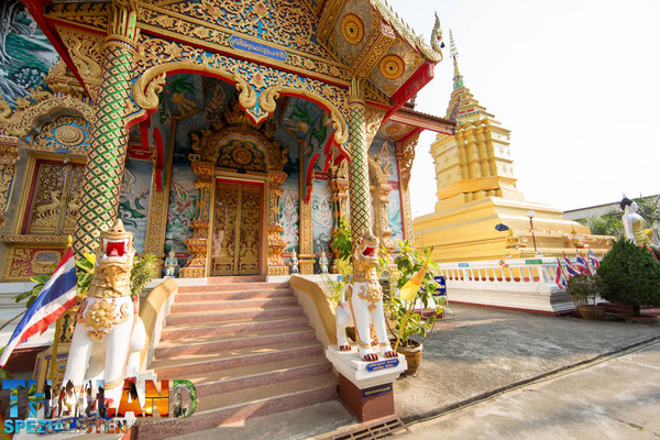 Tempel in Chiang Khong City