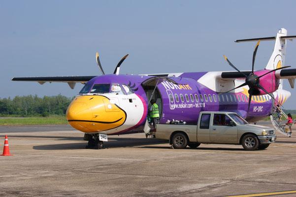 """Nok Air: Thailand """"Billig Airline"""". Sehr zu empfehlen!"""