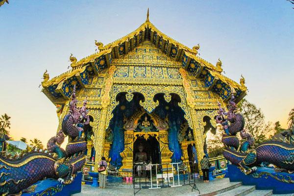 Wat Zen blauer Tempel Chiang Rai
