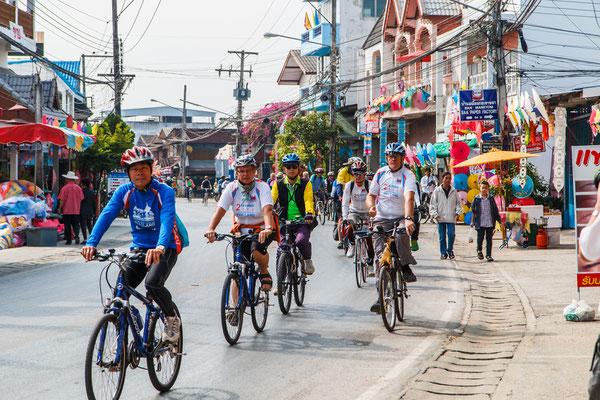 Fahrradtour in Chiang Mai in einer kleinen Gruppe.