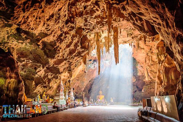 Khao Luang Cave in Petchaburi