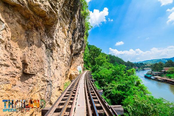 Zugstrecke der Death Railway