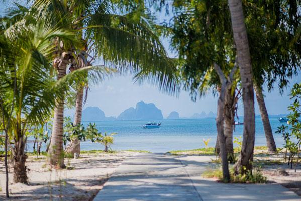 Sivalai Beach Resort - Strandaussicht