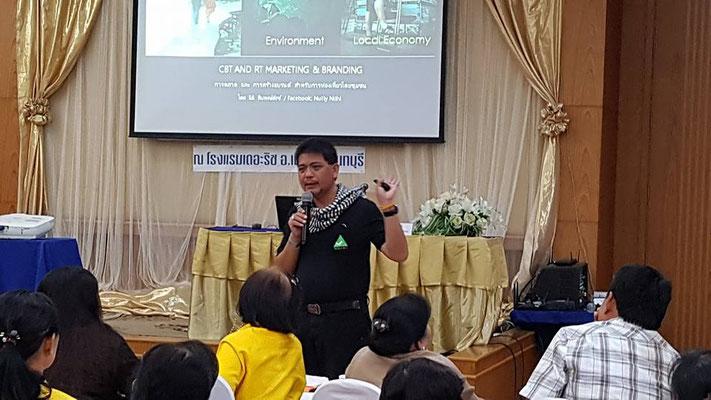 Wir halten auch diverse Tagungen zum Thema Tourismus in Thailand