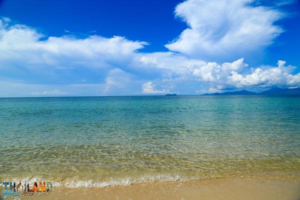 Der Maenam Beach auf Samui