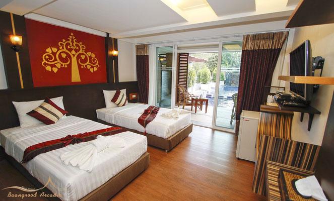 Grood Aracadia Resort - Deluxe Room mit Pool Access