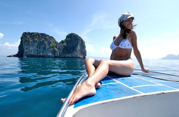Koh Hai Fantasy  Resort - auf einem Bootsausflug