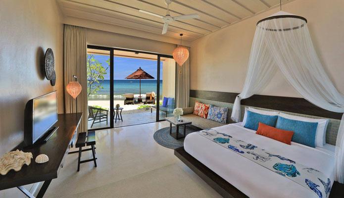 Buri Rasa Village Phangan - Zimmer mit Aussicht auf das Meer