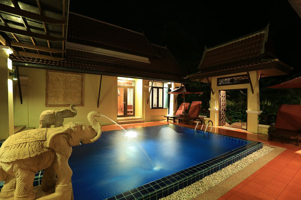Koh Chang Paradise Resort poolvilla