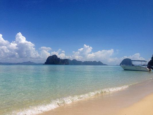 Koh Hai Fantasy  Resort Strand und das Meer