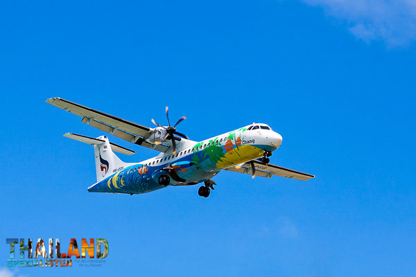 Bangkok Airways fligt von Flughafen Bangkok-Suvarnabhumi (BKK) nach Koh Samui (USM)