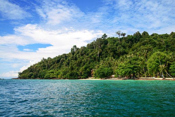 Koh Hai während der Inselrundreise