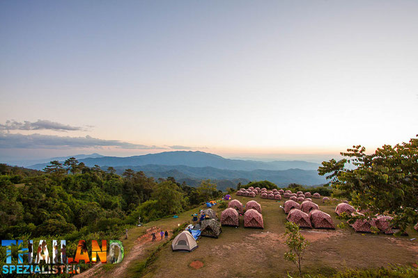 Camping in Thailands Nationalparks
