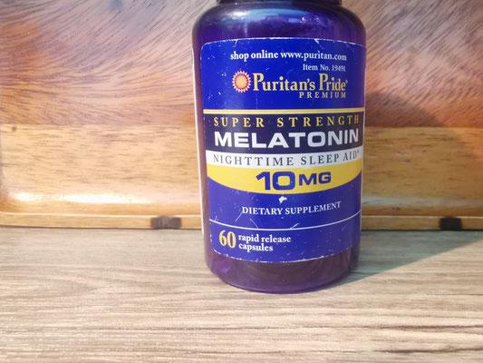 10mg Melantonin (Ohne Rezept erhältlich bei Lazada z.B.