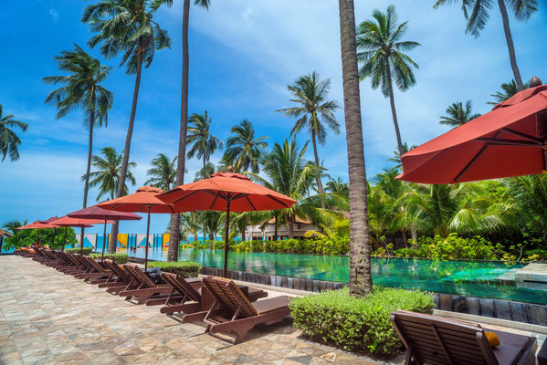 Weekender Resort auf Koh Samui am Lamai Strand - Außenpool