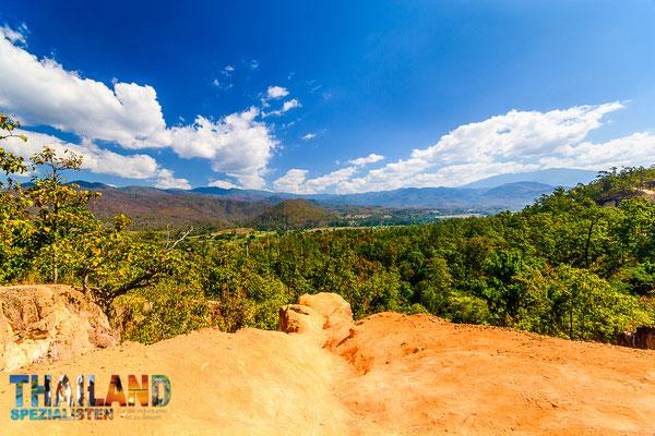 Tolle Aussichten von Kong Lan - die Berge & Schluchten von Pai