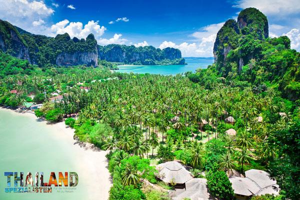 Railay Bucht in Krabi - im Süden Thailands