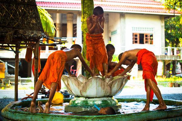 Mönche in Chiang Rai