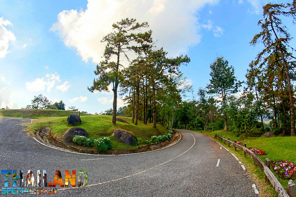 Strasse zum Nationalpark Huai Nam Dang