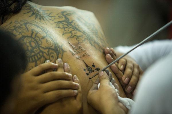 Yantra Tattoo Thailand