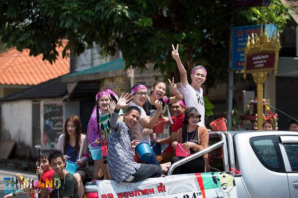 Wasserfestival Thailand
