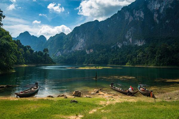 Cheow Lan Lake in Khao Sok