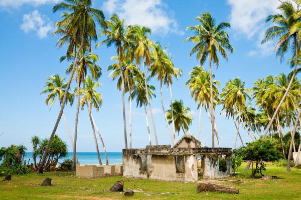 Tsunami-Schaden von 2004 in Sri Lanka