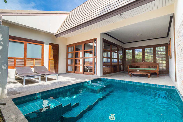 Coco Palm Beach Resort Pool Villa