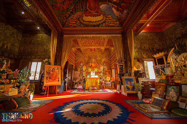 Im Isan gibts viele kulturelle Tempelanlagen sowie historische Anlagen zu besichtigen