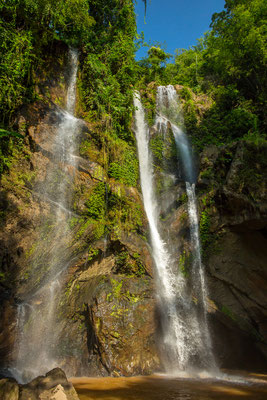 Mork Fa Wasserfall im Doi Inthanon Nationalpark
