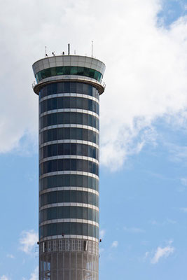 Flug-Tower Suvarnabhumi Airport