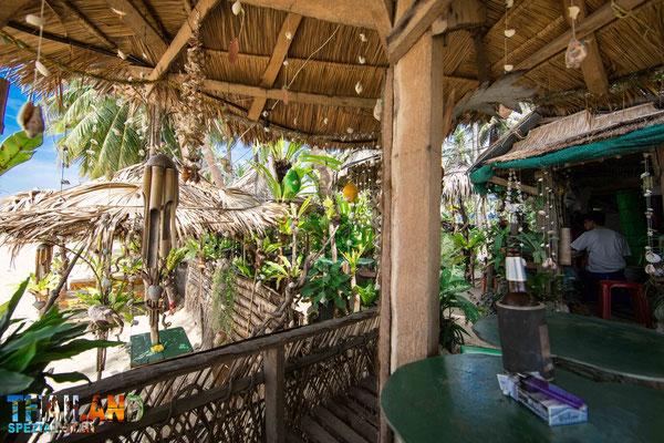 wenige Touristen im Thailand Urlaub